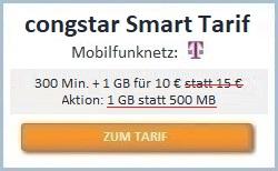congstar Smart Tarif