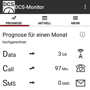 android app kontrolle freiminuten